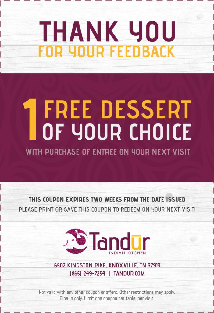 tandur survey coupon